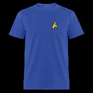 T-Shirts ~ Men's T-Shirt ~ Mission Log Science Shirt