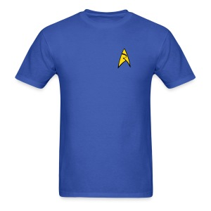 Mission Log Science Shirt - Men's T-Shirt