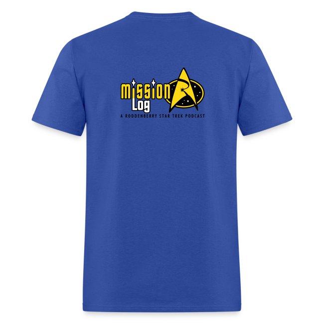Mission Log Science Shirt