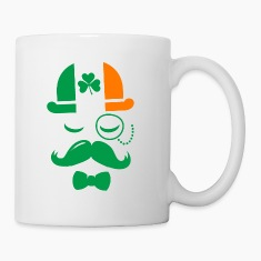 i love ireland irish shamrock St. Patrick's Day Bottles & Mugs