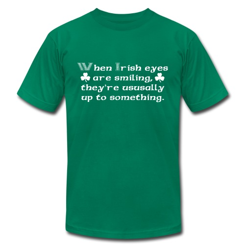 Irish Eyes - Men's  Jersey T-Shirt