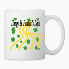 happy_st_patricks_day_cbr3 Bottles & Mugs