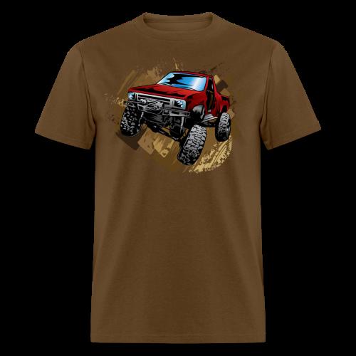 Red Rock Crawling Off-Road Truck Shirt - Men's T-Shirt