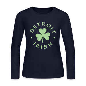 Detroit Irish - Women's Long Sleeve Jersey T-Shirt