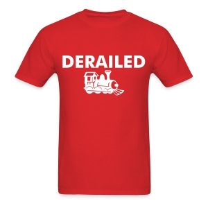 Derailed - Men's T-Shirt