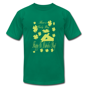 Have a lucky day - Men's T-Shirt by American Apparel