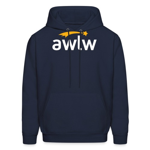 AWLW Hoodie Logo Large - Men's Hoodie