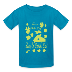 Have a lucky day - Kids' T-Shirt