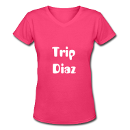 Women's T-Shirts ~ Women's V-Neck T-Shirt ~ Article 12057272