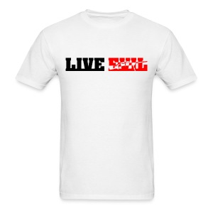 Live Evil Assault (White) - Men's T-Shirt