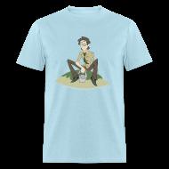 T-Shirts ~ Men's T-Shirt ~ Pool Island Shirt