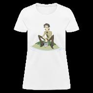 Women's T-Shirts ~ Women's T-Shirt ~ Pool Island Shirt (Chicks)