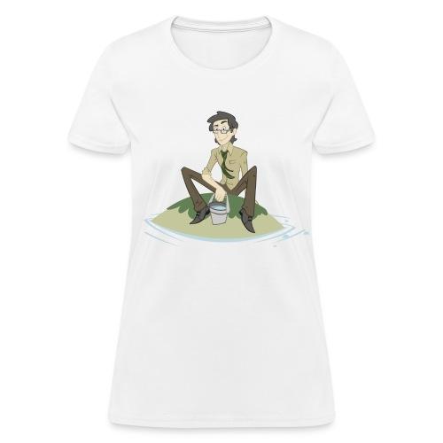 Pool Island Shirt (Chicks) - Women's T-Shirt