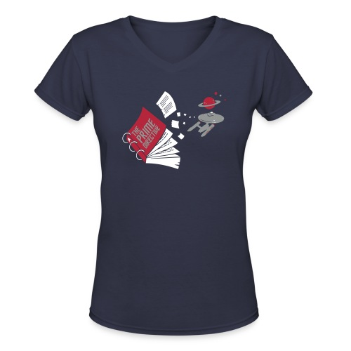 Screw the Prime Directive! - Women's V-Neck T-Shirt