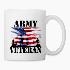 Army Veteran Bottles & Mugs