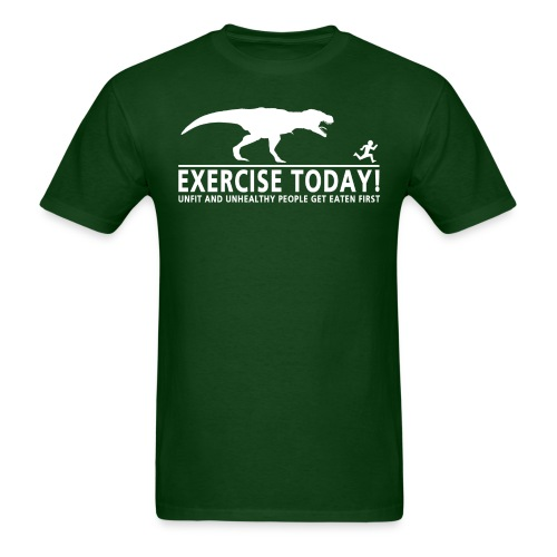 Men's Exercise today - Men's Standard Weight T-Shirt - Men's T-Shirt