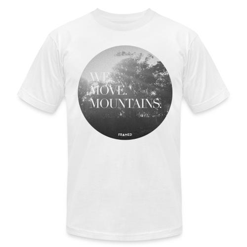 We Move Mountains  - Men's  Jersey T-Shirt