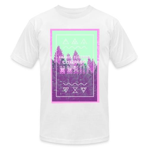 Off-Register Logo - Men's  Jersey T-Shirt