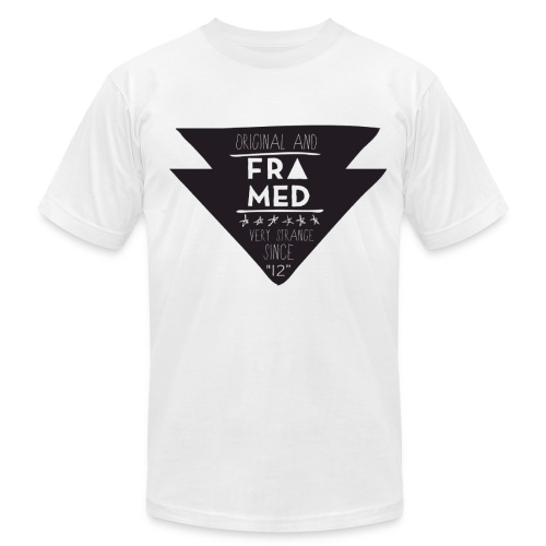 Strange Logo Tee - Men's Fine Jersey T-Shirt