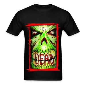 mens - dead zombie face - Men's T-Shirt