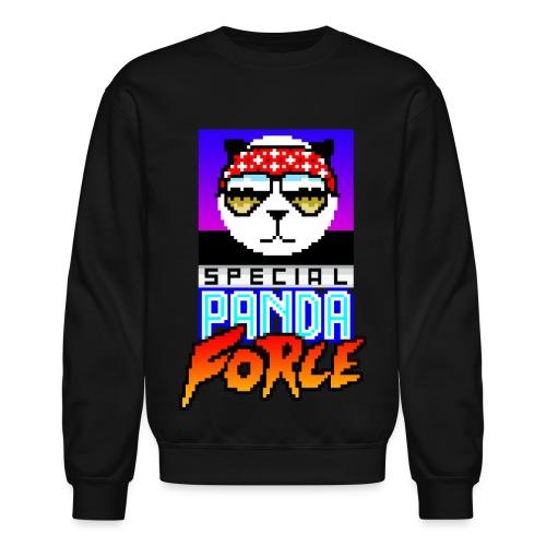 Funky Panda Special Panda Force Crewnecks! - Crewneck Sweatshirt