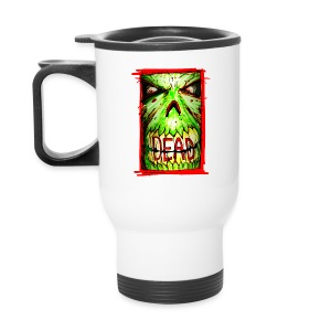 xtras - dead zombie face - Travel Mug