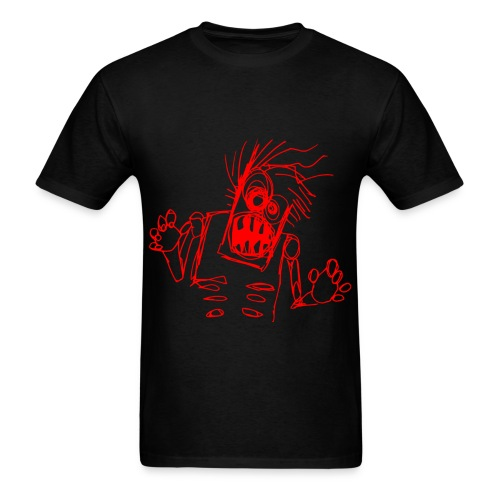 mens - zombie doodle - Men's T-Shirt