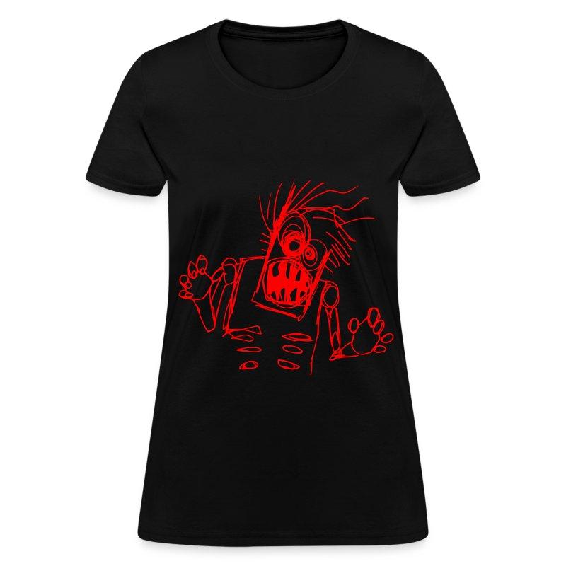 womens - zombie doodle - Women's T-Shirt