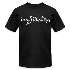 Infidelity Mens Tee - Men's T-Shirt by American Apparel