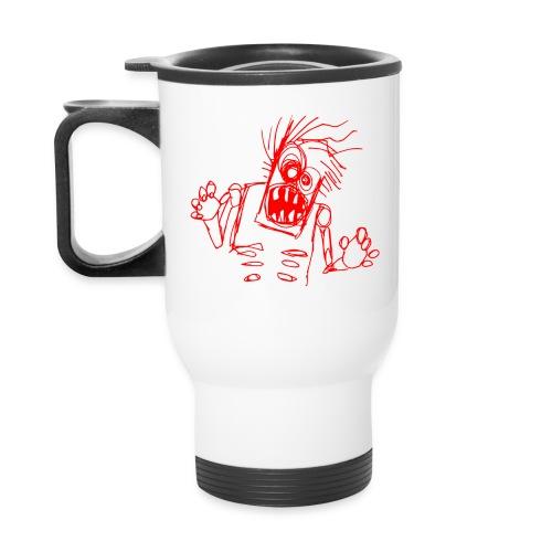 kids - zombie doodle - Travel Mug