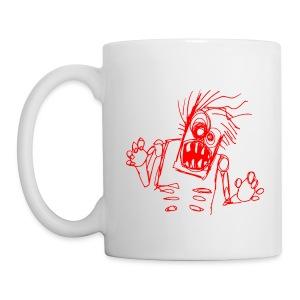 xtras - zombie doodle - Coffee/Tea Mug