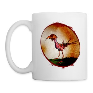 xtras - zombie chicken - Coffee/Tea Mug