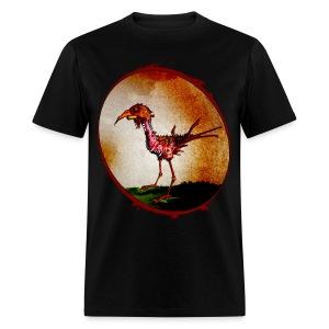 mens - zombie chicken - Men's T-Shirt
