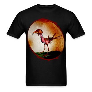 mens - zombie chicken - Men's T-Shirt
