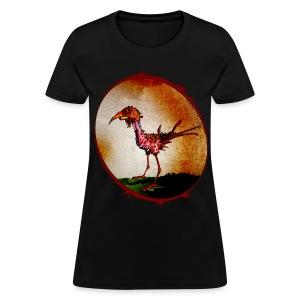 womens - zombie chicken - Women's T-Shirt