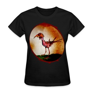 womens - zombie chicken - Women's T-Shirt