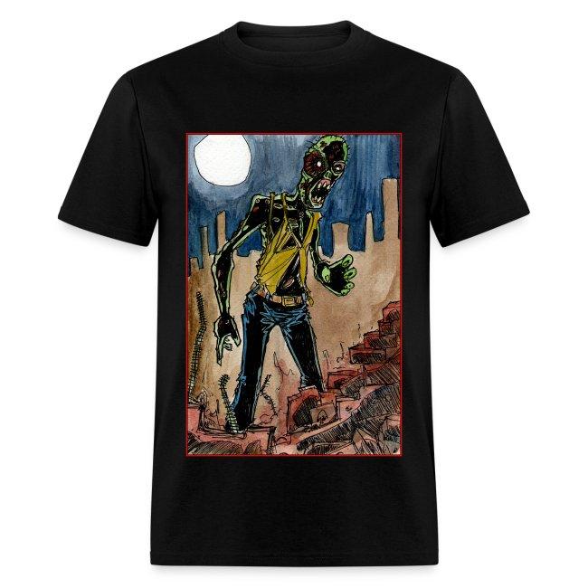 mens - zombie in ruins
