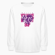 Matty B You Make My Heart Skip mp Kids' Shirts