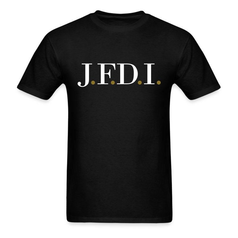 Men's Dark J.F.D.I. TVL T-Shirt - Men's T-Shirt