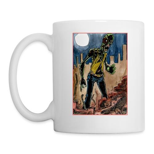 xtras - zombie in ruins - Coffee/Tea Mug
