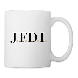 Light J.F.D.I. TVL Mug - Coffee/Tea Mug