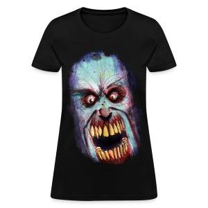 womens - zombie scream - Women's T-Shirt