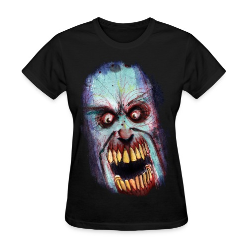 womens - zombie scream - Women's T-Shirt