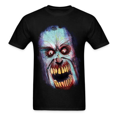 mens - zombie scream - Men's T-Shirt
