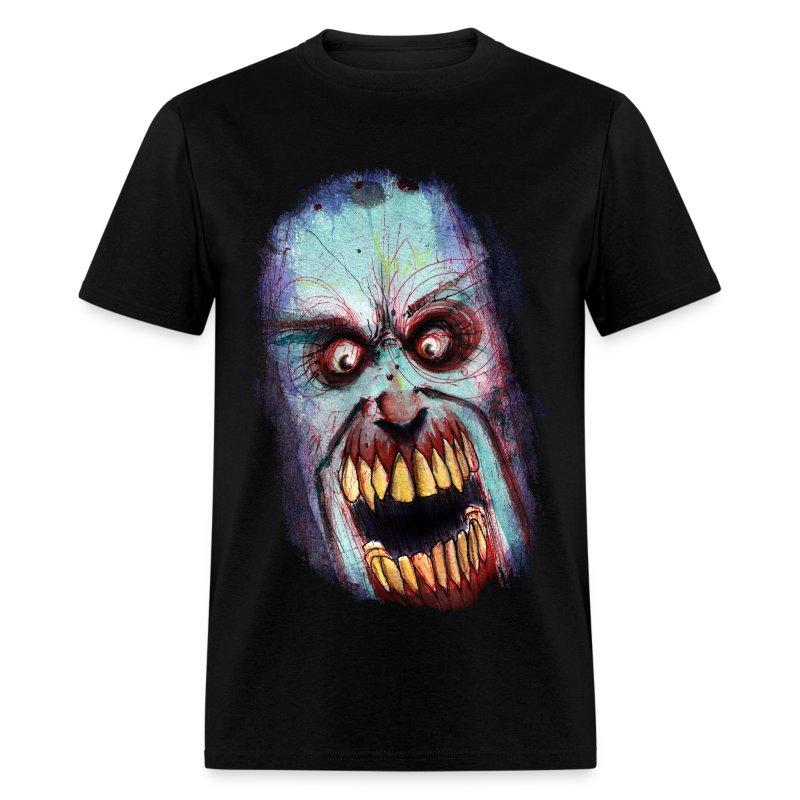 mens - zombie scream - Men's T-Shirt