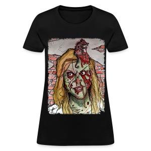 womens - zombie rat head - Women's T-Shirt
