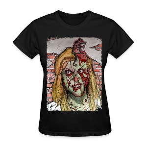 womens - zombie rat head - Women's T-Shirt