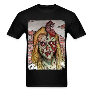 mens - zombie rat head - Men's T-Shirt
