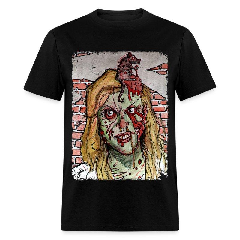 mens - zombie rat head - Men's T-Shirt