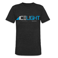 T-Shirts ~ Unisex Tri-Blend T-Shirt ~ Ice Light - Vintage Mens